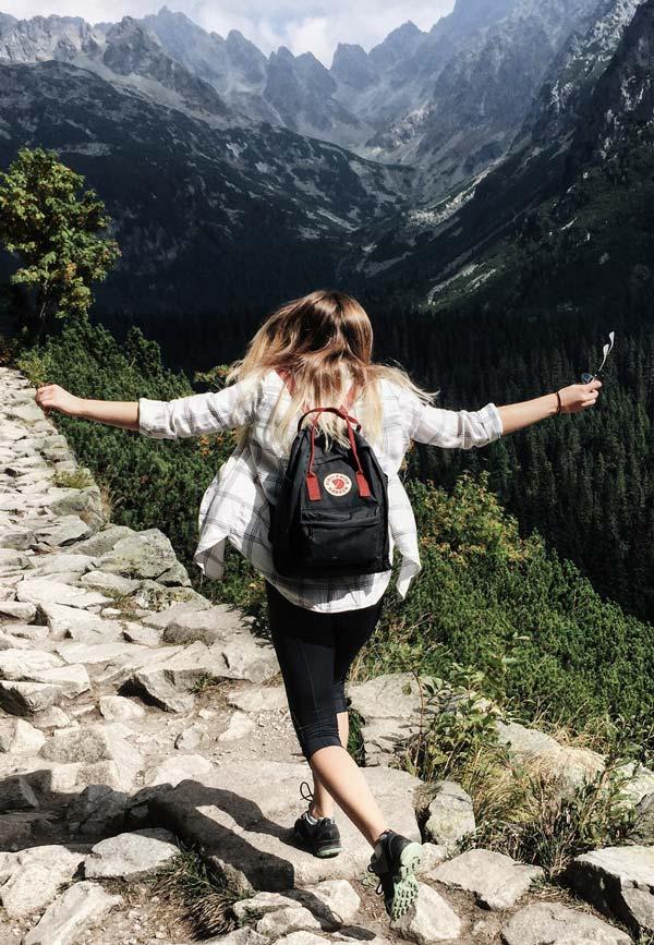 Rejse på bjergside
