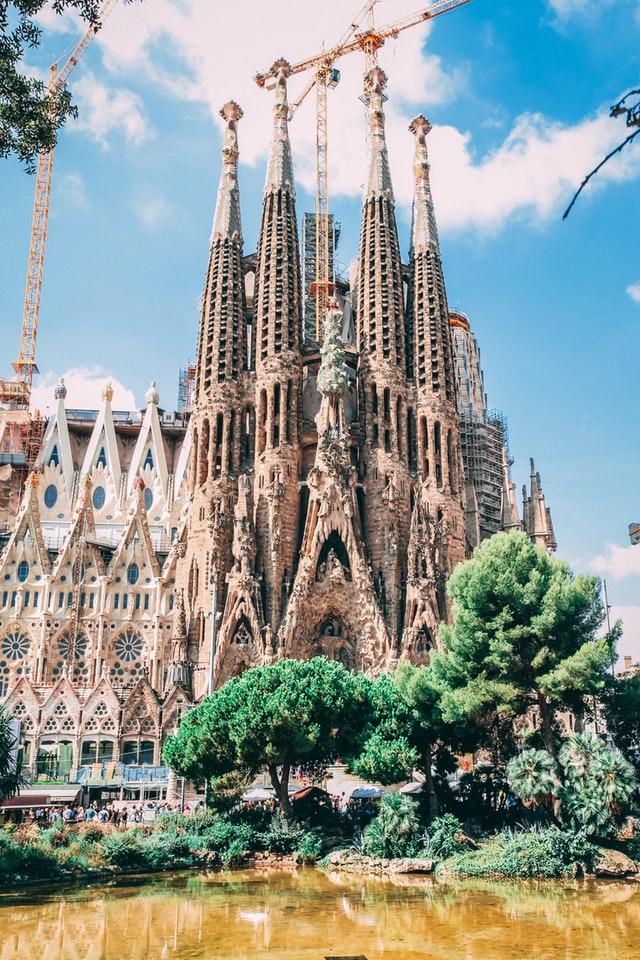 La Sagrada Familia i Barcelona