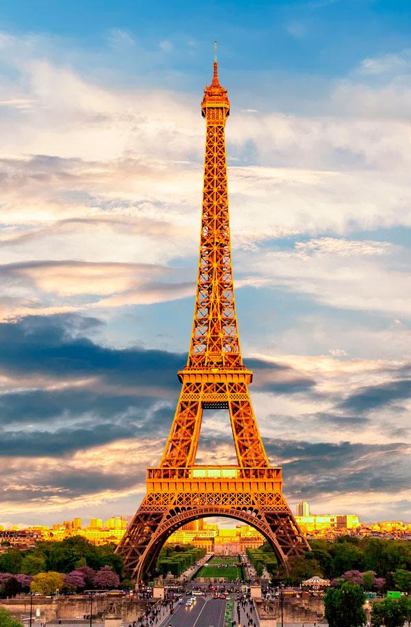 Eiffel tårnet i Paris