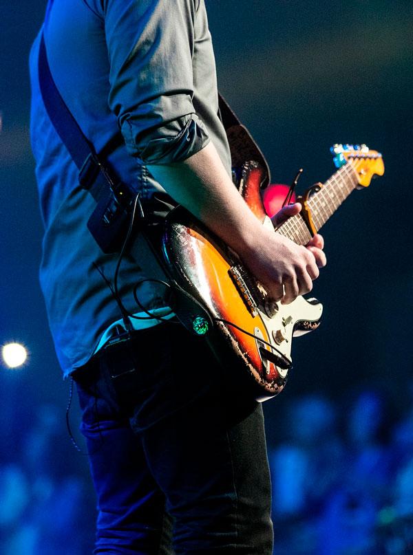 Guitarist til koncert