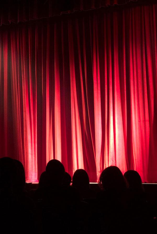 Publikum i teateret