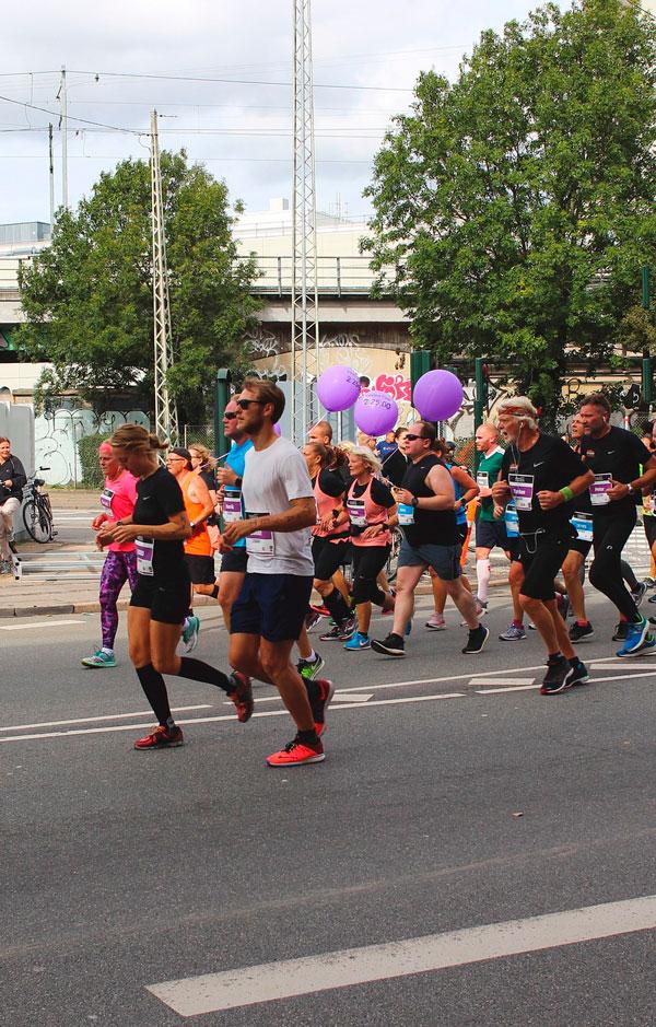 København marathon løbere