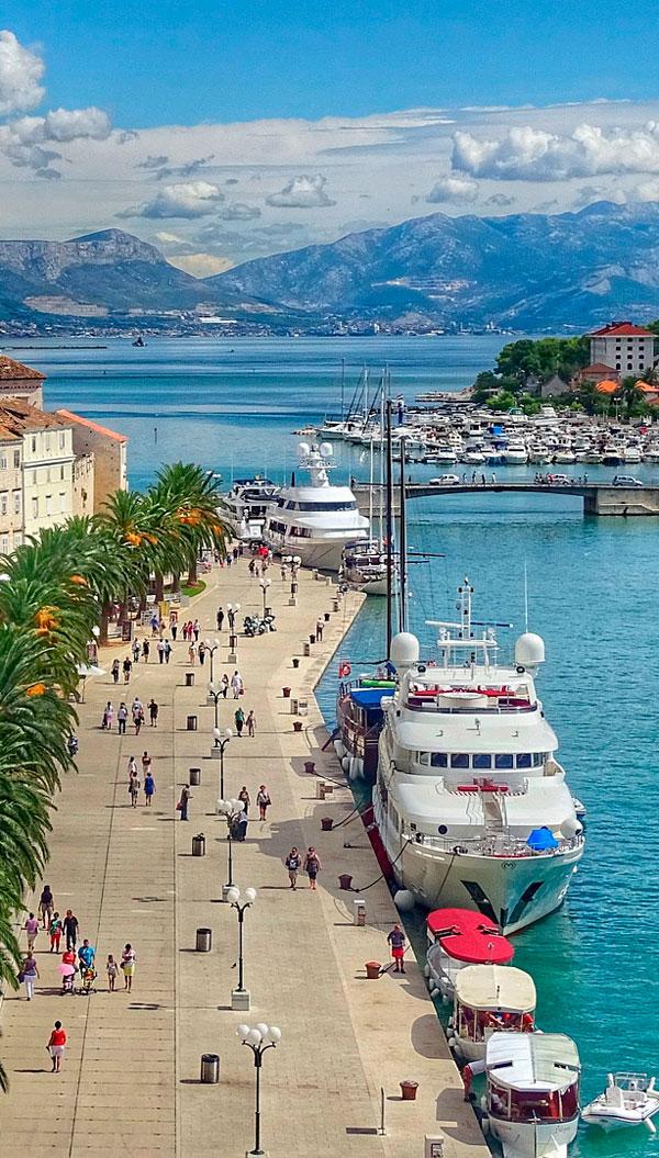 Kroatisk havneby