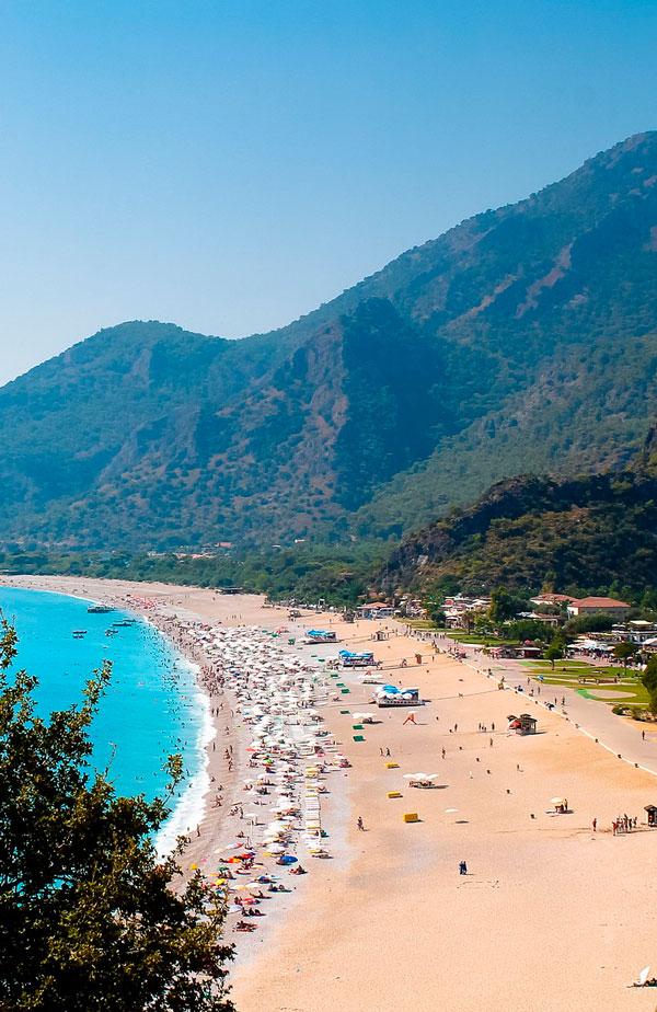 Strand i Tyrkiet