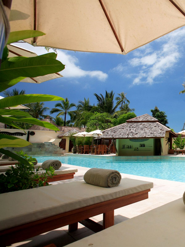 Strand resort