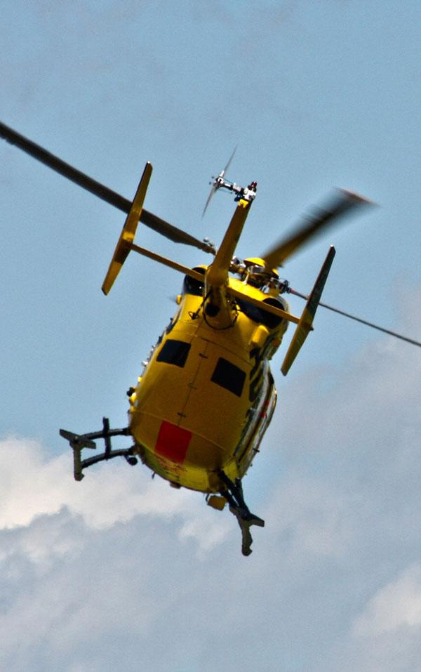 Flyvning i helikopter