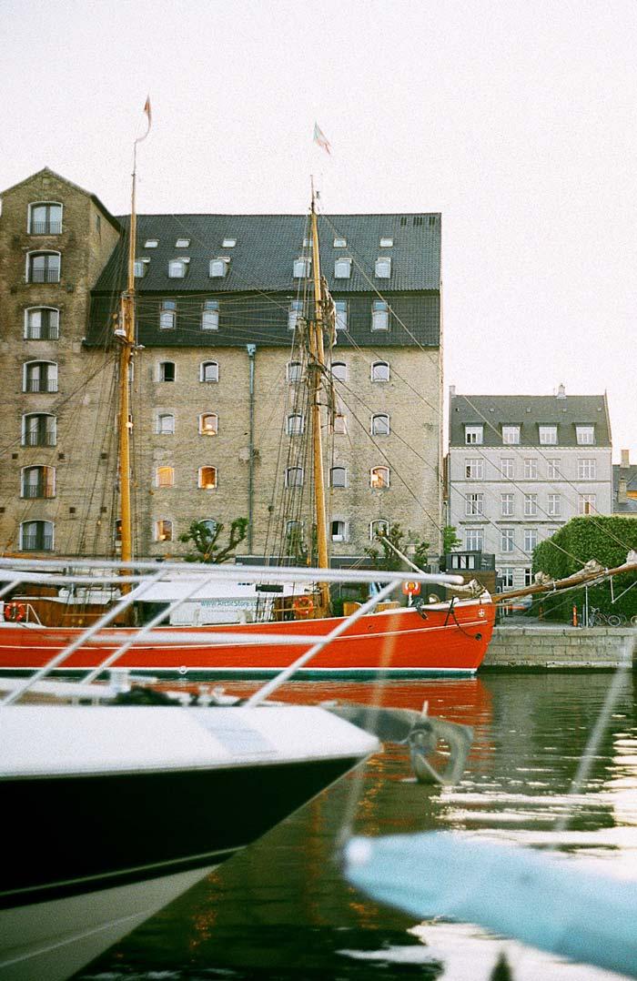 Både og vand på Sjælland